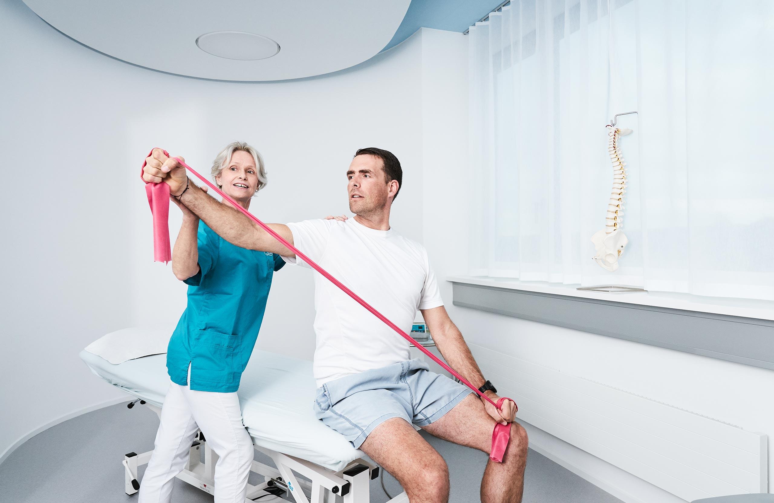 Physiotherapie in der Quellenpraxis